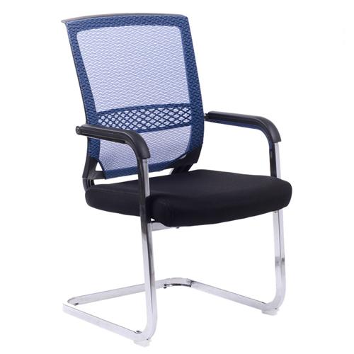 Chromium Mesh Backrest Armchair Image 3