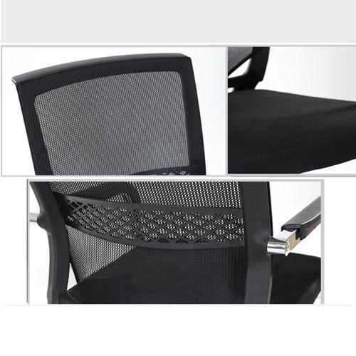 Chromium Mesh Backrest Armchair Image 5