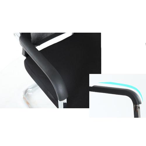 Chromium Mesh Backrest Armchair Image 6