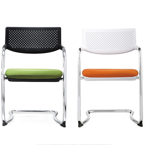 Fashion Chrome Frame Stackable Chair Image 11