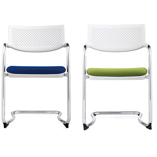 Fashion Chrome Frame Stackable Chair Image 12