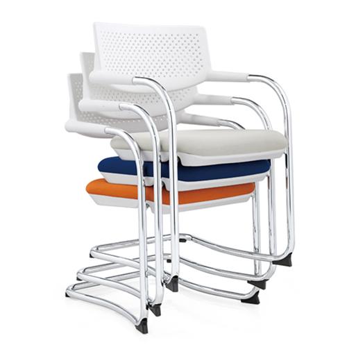 Fashion Chrome Frame Stackable Chair