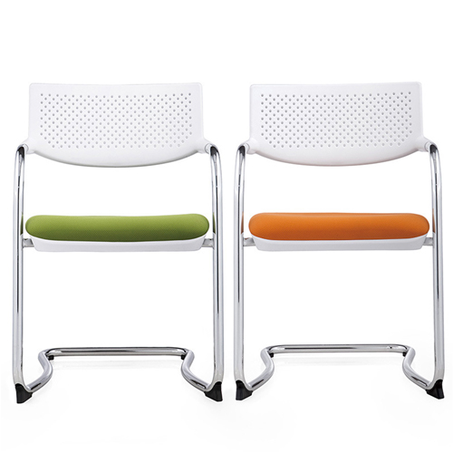 Fashion Chrome Frame Stackable Chair Image 1