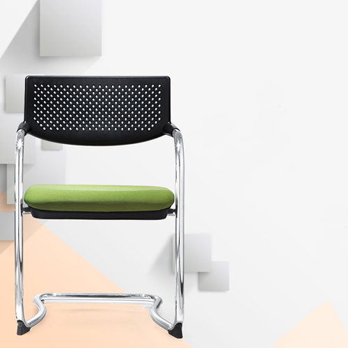Fashion Chrome Frame Stackable Chair Image 5