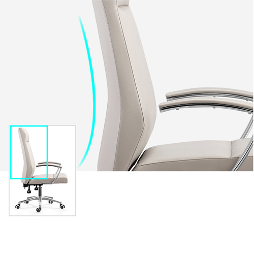 Cipri Leather Office Chair Image 3