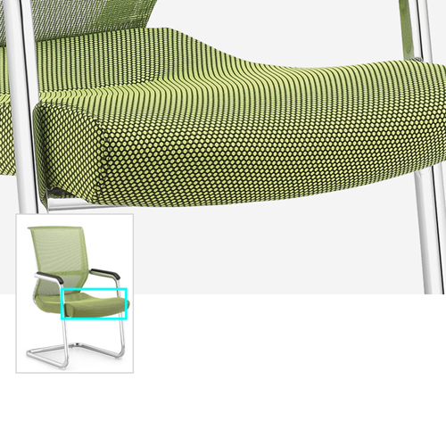 Cantilever Mesh Back Guest Chair Image 9