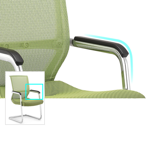 Cantilever Mesh Back Guest Chair Image 10