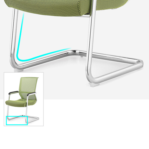 Cantilever Mesh Back Guest Chair Image 11