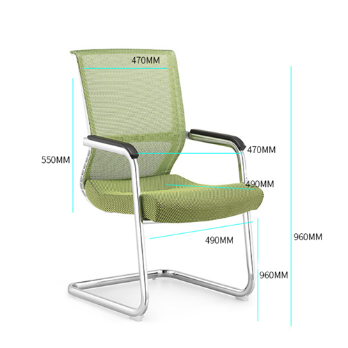 Cantilever Mesh Back Guest Chair Image 12