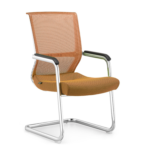 Cantilever Mesh Back Guest Chair Image 1