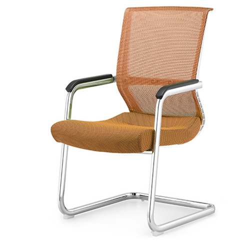 Cantilever Mesh Back Guest Chair Image 4