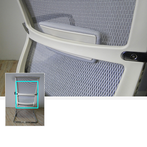 Cantilever Mesh Back Guest Chair Image 7