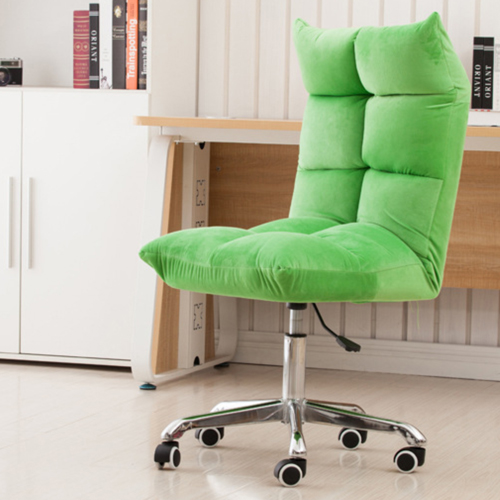 Personalized Velvet Chair With Chrome Base Image 10