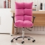 Personalized Velvet Chair With Chrome Base Image 11