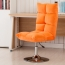 Personalized Velvet Chair With Chrome Base Image 12
