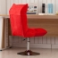 Personalized Velvet Chair With Chrome Base Image 14