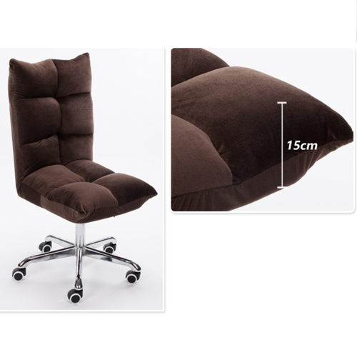 Personalized Velvet Chair With Chrome Base Image 21