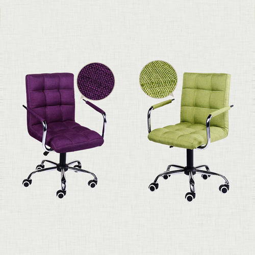 Fabric Swivel Office Chair Image 14