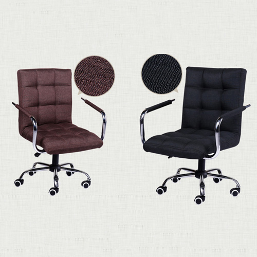 Fabric Swivel Office Chair Image 15