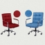 Fabric Swivel Office Chair Image 17