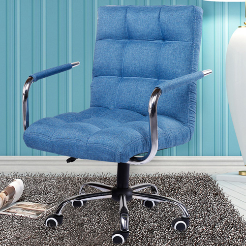 Fabric Swivel Office Chair Image 1