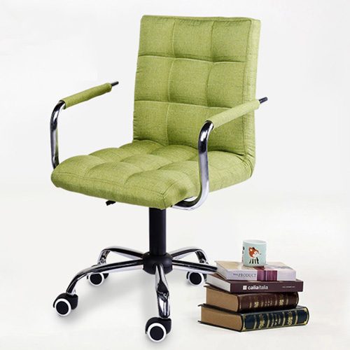 Fabric Swivel Office Chair Image 3
