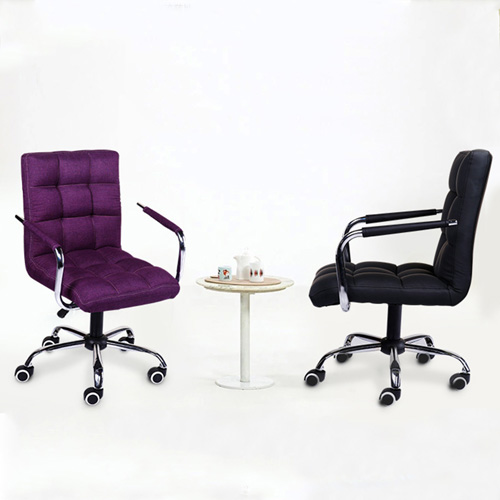 Fabric Swivel Office Chair Image 6