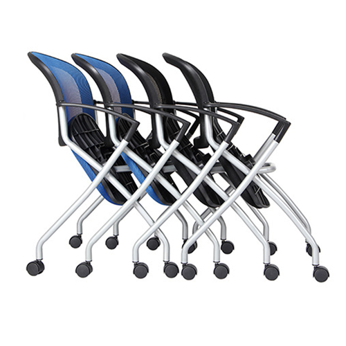 Mesh Back Stackable Training Chair Image 9