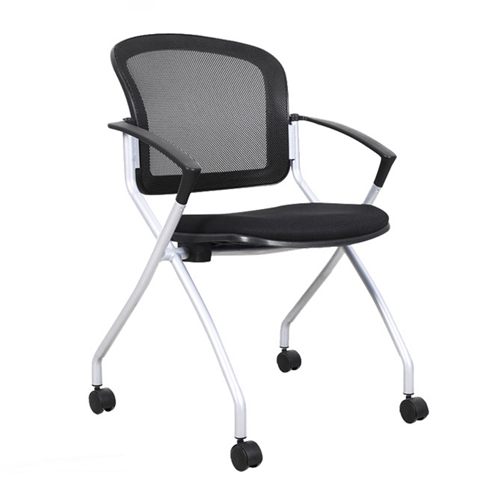 Mesh Back Stackable Training Chair Image 10