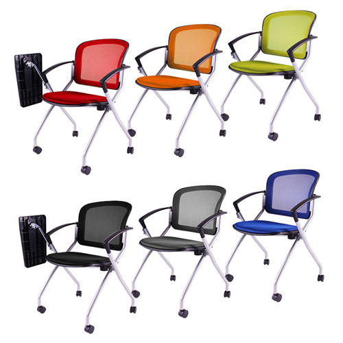 Mesh Back Stackable Training Chair Image 15