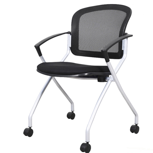 Mesh Back Stackable Training Chair