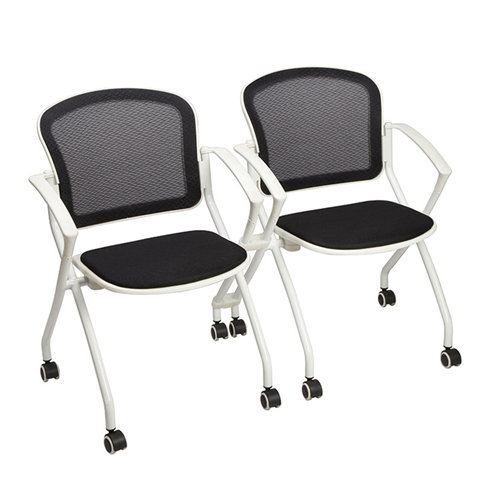 Mesh Back Stackable Training Chair Image 8