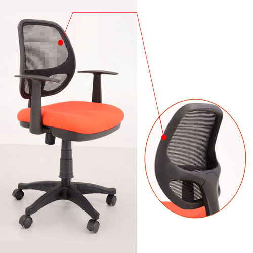 Executive Revolving Hydraulic Chair Image 9