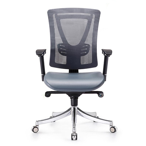Deluxe Mesh Office Chair With PU Cushion