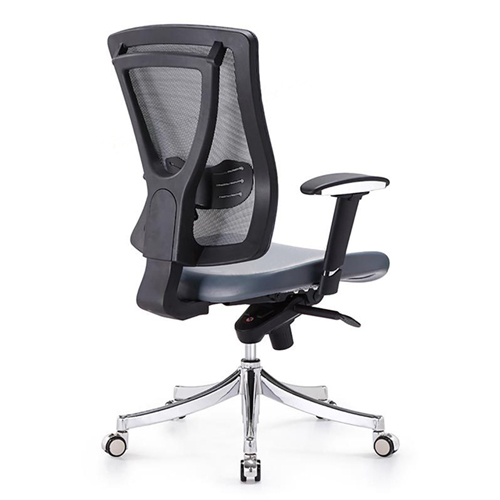 Deluxe Mesh Office Chair With PU Cushion Image 2