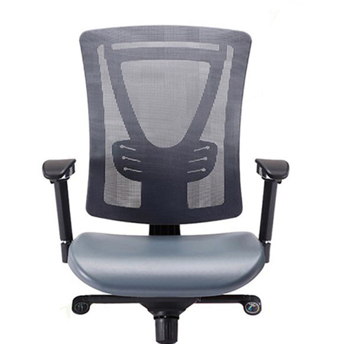 Deluxe Mesh Office Chair With PU Cushion Image 3