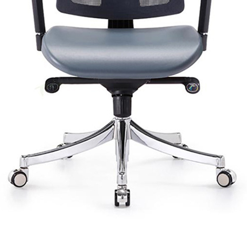 Deluxe Mesh Office Chair With PU Cushion Image 6