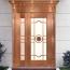 Modern Copper Exterior Glass Door