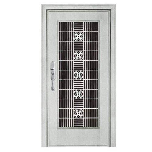 Fancy Steel Exterior Single Door