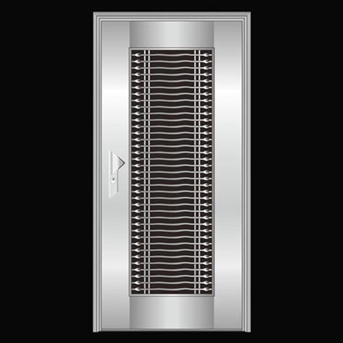 Stainless Steel Exterior Security Door