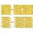 Self Adhesive 3D Wall Brick Sticker