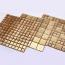 Wood Mosaic Wall Sticker Tile