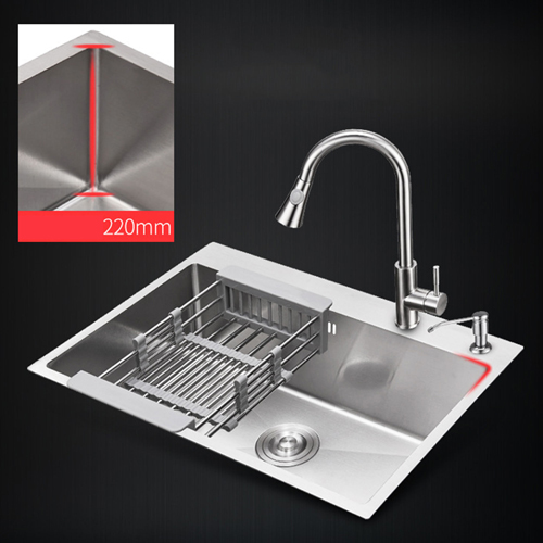 Square Stainless Steel Kitchen Sink