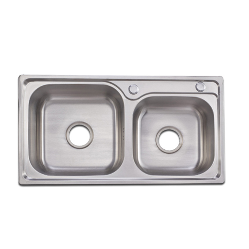 Tensile Double Tank Stainless Steel Sink