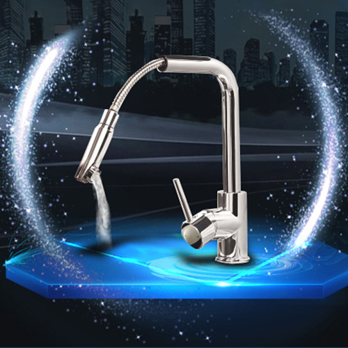 Splash Kitchen Faucets With Pull Down Sprayer