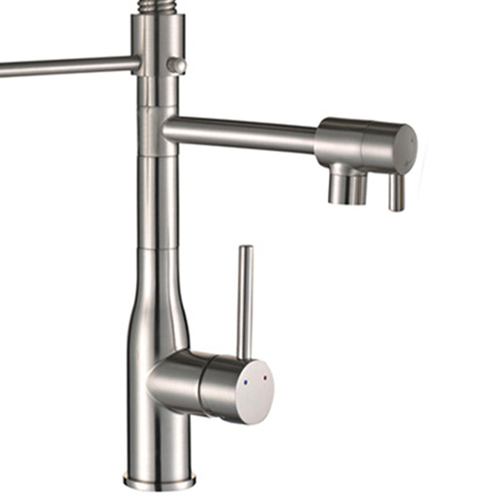 Arc Spring Kitchen Faucet with Pull Down Sprayer