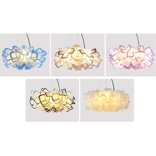 Gorgeous Flower Acrylic Chandelier