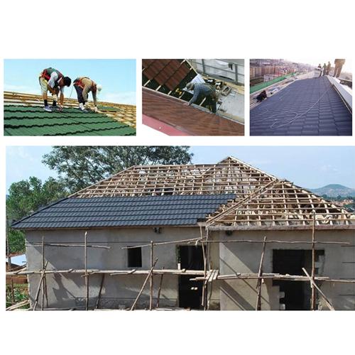 Classic Villa Color Stone Roof Tile