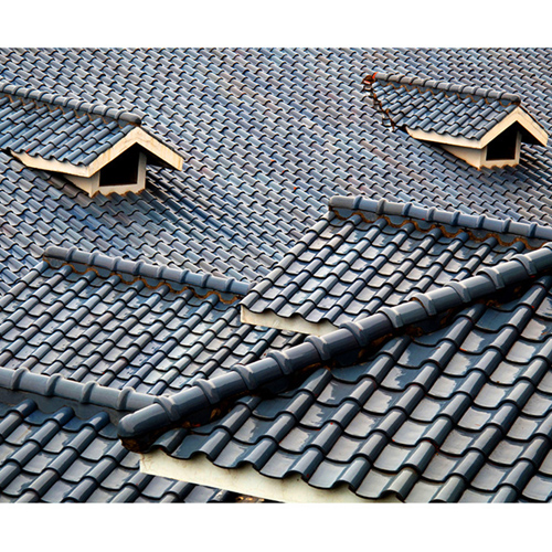 Frost-Resistant S-Type Ceramic Roof Tile