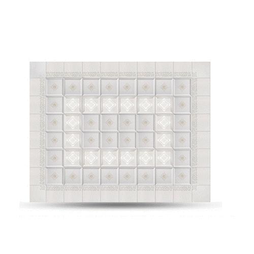 Deep Aluminum Buckle Plate Ceiling